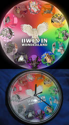 Owls in Wonderland: The Clock
