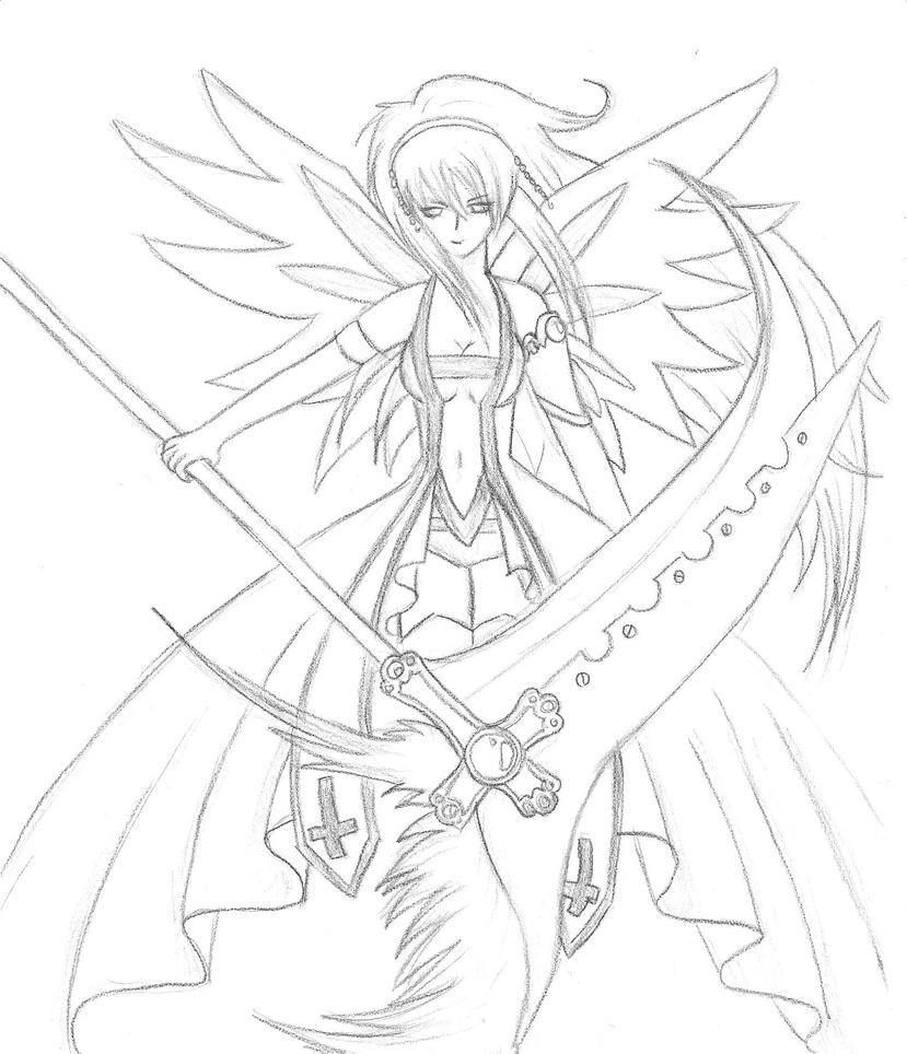 Fallen angel sketch by anmanda on deviantart fallen angel sketch by anmanda thecheapjerseys Choice Image