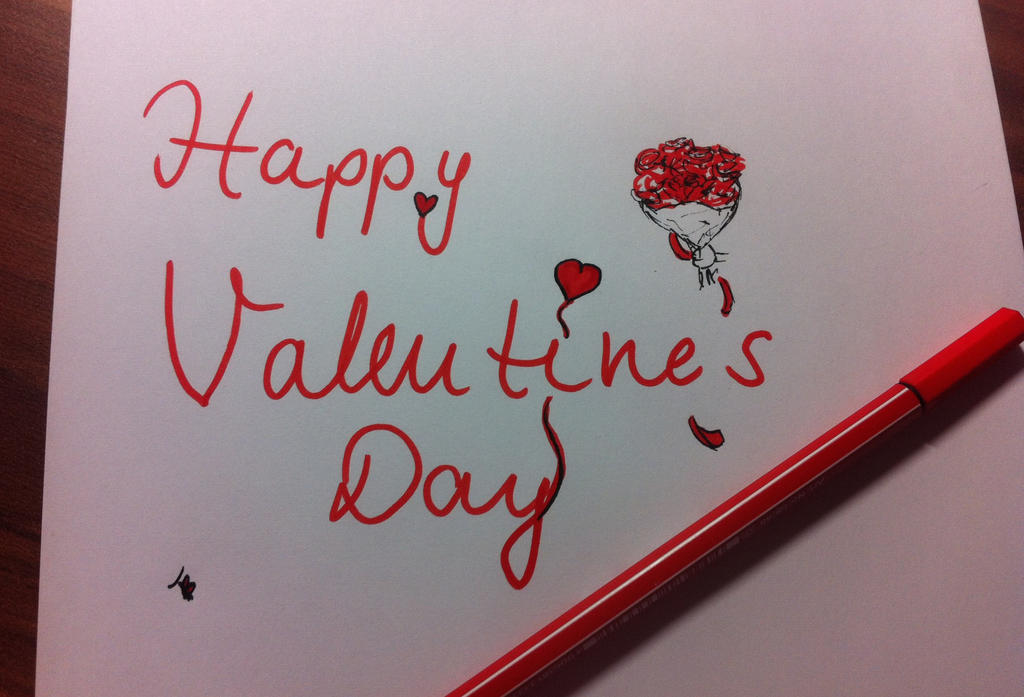 Happy Valentine's Day by Franzili