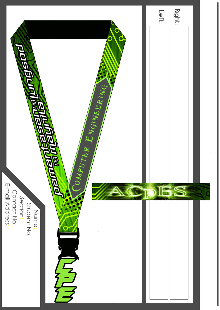 Coe Lanyard Design 2011 By Isaacmark On Deviantart