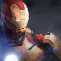 2013 06 Iron Man by shikee