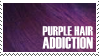 Purple Hair Addiction Stamp by Jhas777