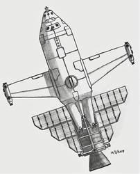 Armed Shuttle by Brijeka