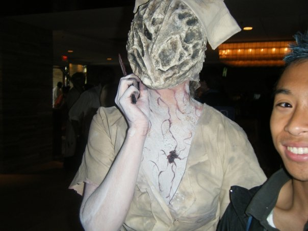 Silent Hill Nurse cosplay Acen by Doom-In-A-SKORT