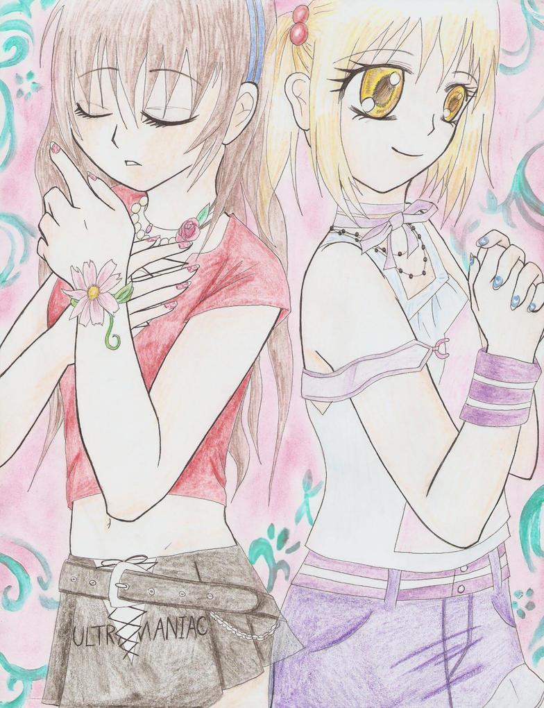 Ayu and Nina Arina by KunoichiAyu
