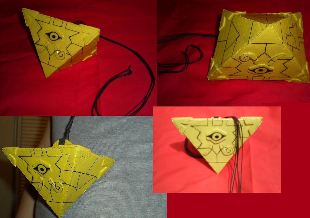 Cosplay Craft Yu Gi Oh Millenium Puzzle Necklace By