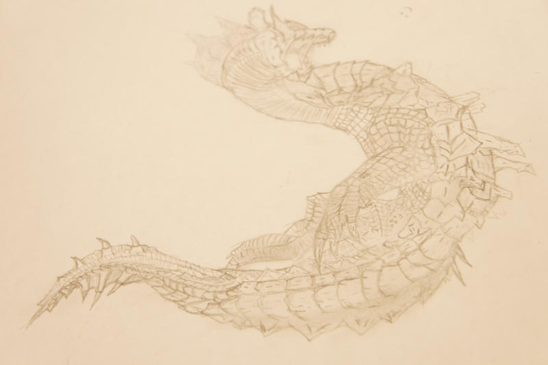 the lagiacrus by ethan-k793