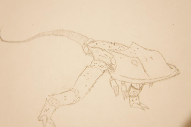 bipedal horshoe crab by ethan-k793