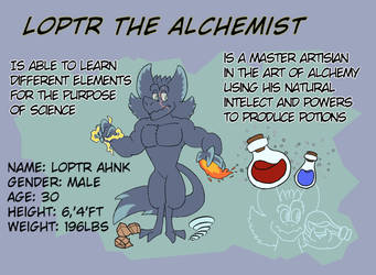 Loptr The Alchemist