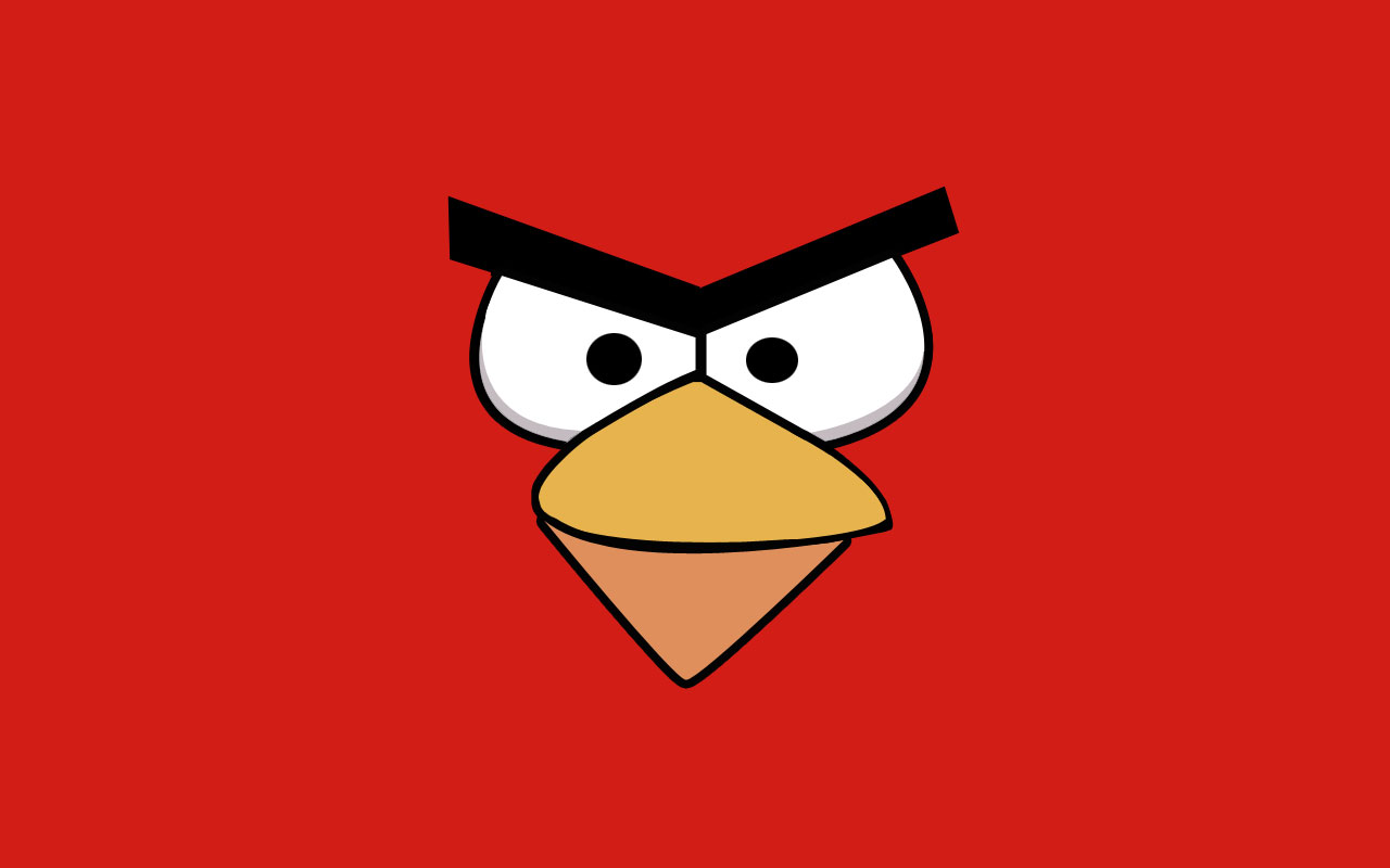 red angry bird wallpaper the image kid has it. Black Bedroom Furniture Sets. Home Design Ideas