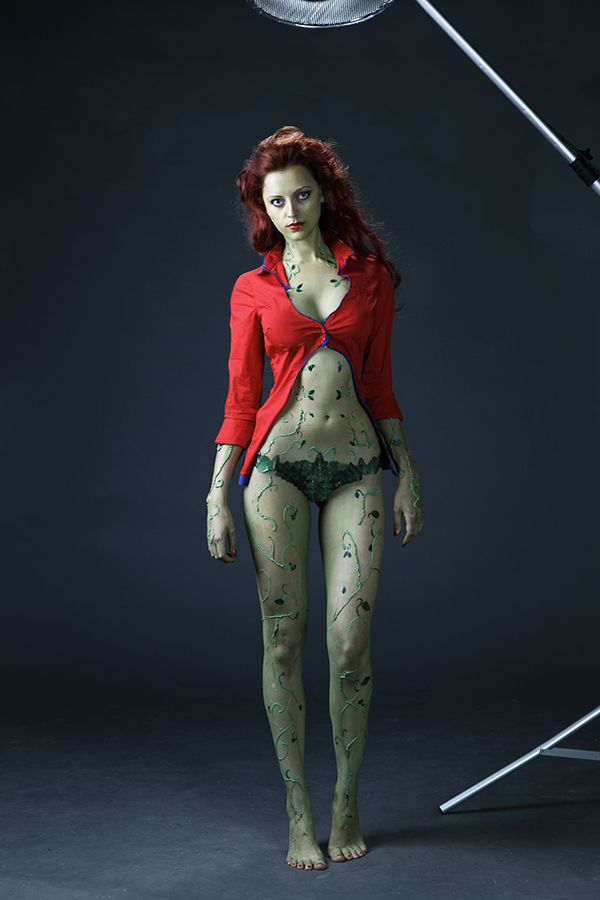 Poison Ivy. Arkham Asylum. Studio by ormeli