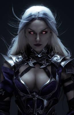 Sindel. Queen of Edenia
