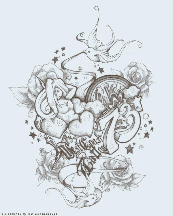 West Coast Style Tattoo Designs