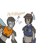 Kyo nd Mongoose by fhfgbf