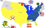 The United States, 1790