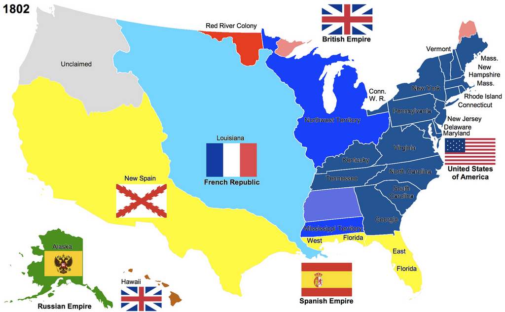 States Map In French Other Internet Resources US History North - New orleans usa map