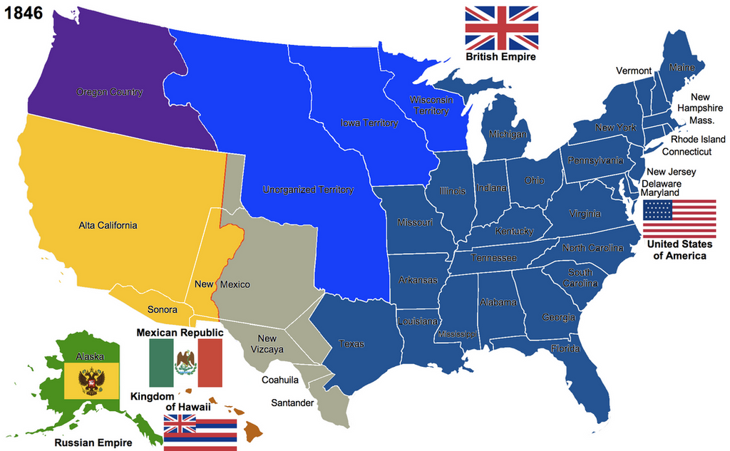 The United States 1846 by Hillfighter on DeviantArt
