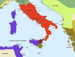 The Punic Wars by Hillfighter