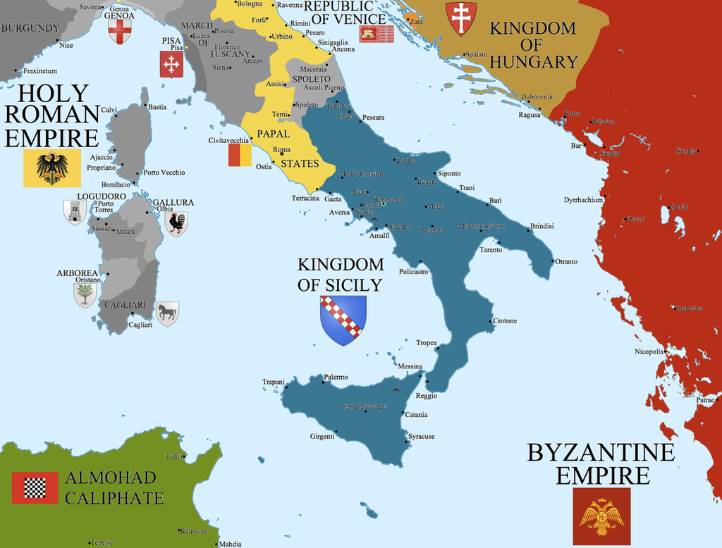 The Europe of the 12th Century The_kingdom_of_sicily_by_hillfighter-d384qmz