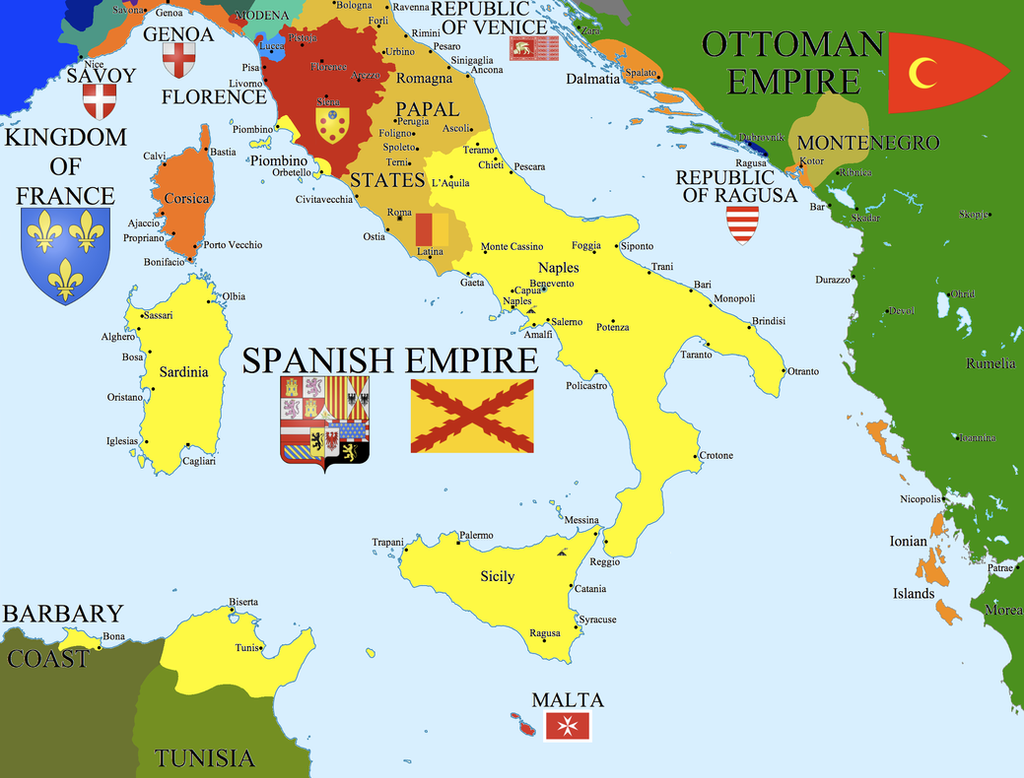 Opinions on italian wars for The italian