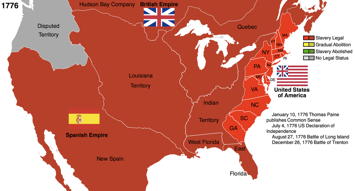 Map Of Us Colonies Globalinterco - Map of us in 1776