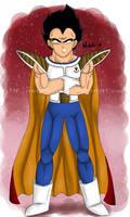 The Prince of Saiyans
