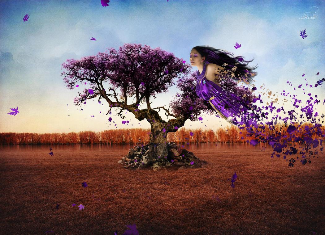 An tree spirit by PriscillaSantana