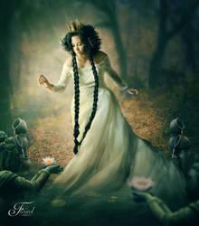 Silence is Golden by PriscillaSantanaArts