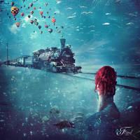 Atlantis Express by PriscillaSantanaArts