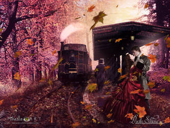 The Colors of goodbye by PriscillaSantanaArts