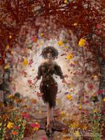 The Mage of the Danceable Wind by PriscillaSantanaArts