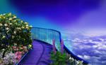 Waling in the sky Premade Day ver by PriscillaSantanaArts