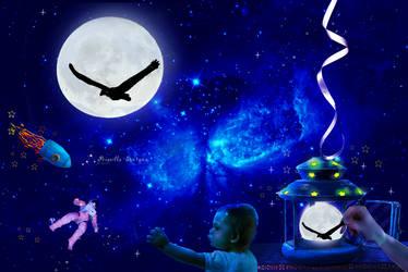 Dreamyv Universe by PriscillaSantanaArts