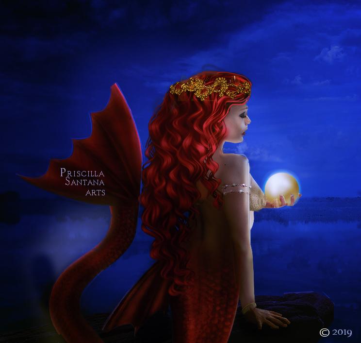Pearl by PriscillaSantanaArts