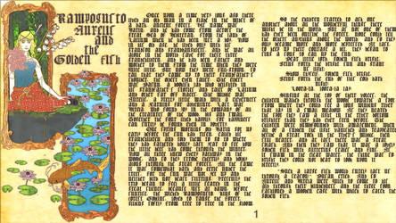 Aurelis, Rampogusto, and the Golden Fish by lavilovi12