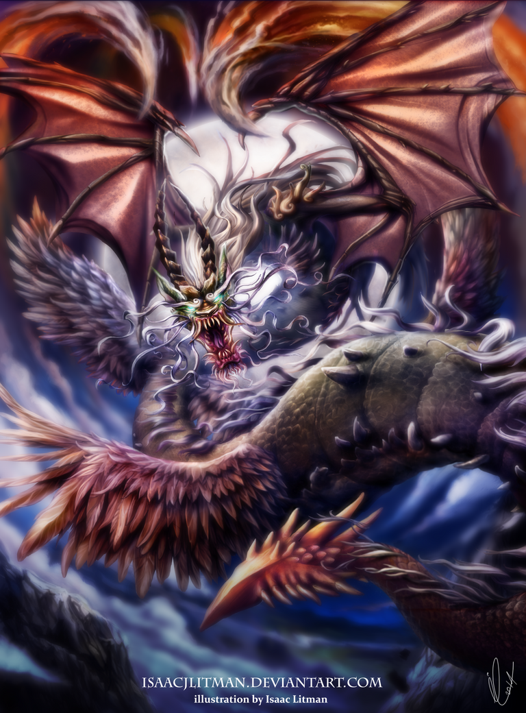 Dragon by IsaacJLitman