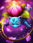 Ivysaur #002 by IsaacJLitman