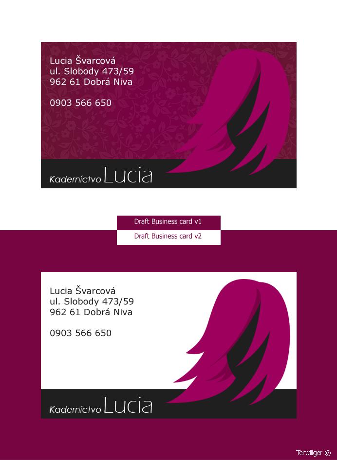 Business card 4 Hairdresser by Terwiliger on DeviantArt