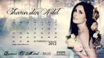 Sharon den Adel  Calendar 01-2012