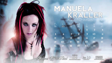 Manuela Kraller Calendar : August 2012
