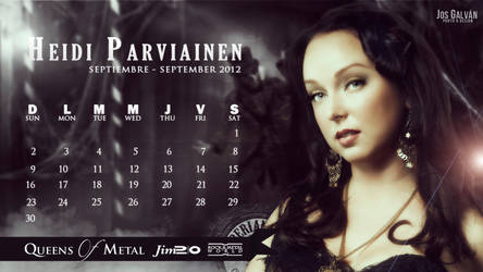Heidi Parviainen Calendar : September 2012