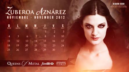 Zuberoa Aznarez Calendar: November 2012
