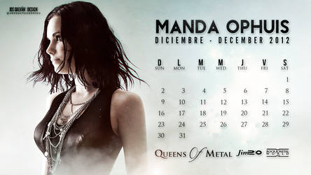Manda Ophuis Calendar: December 2012 (2)