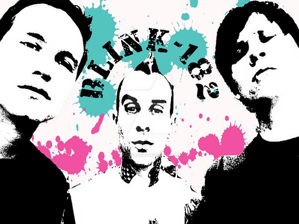 Blink-182 by MissRandumb