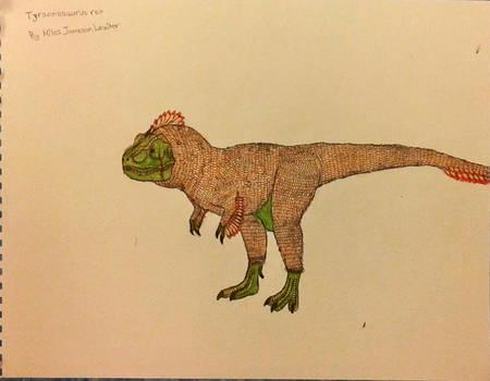 Feathery Tyrannosaurus rex