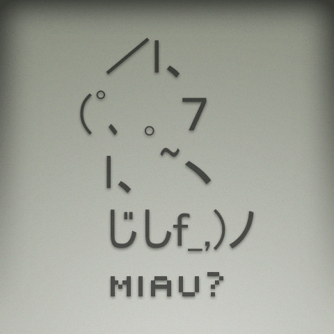 General buttered bread Chat Cute_ASCII_kitty_by_Davirus