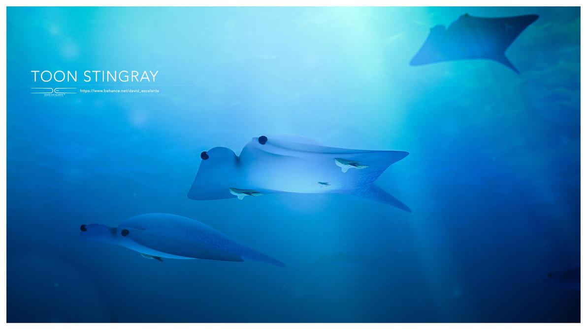 3D Toon Stingray by Davirus