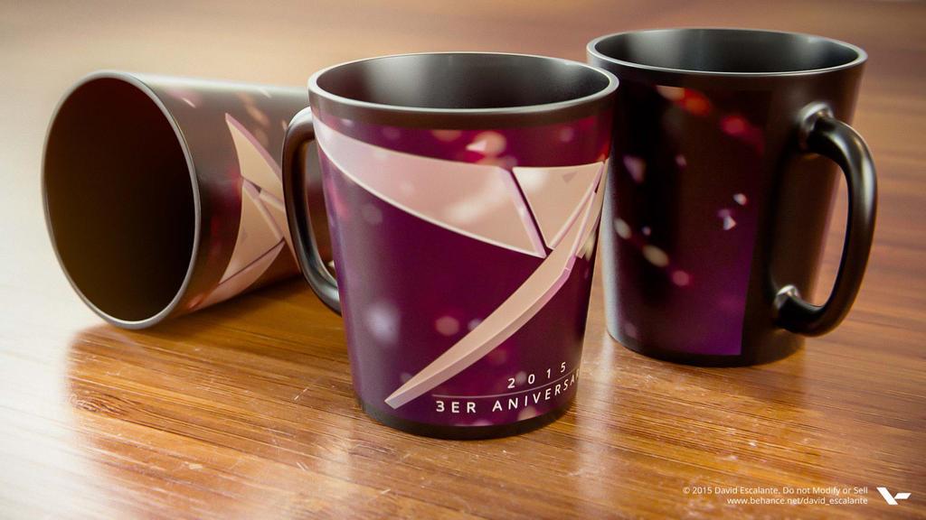 3D Mockup Mugs by Davirus