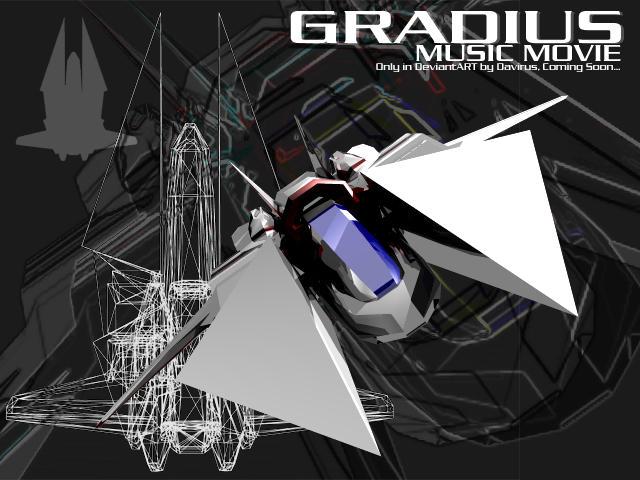 Gradius promo by Davirus