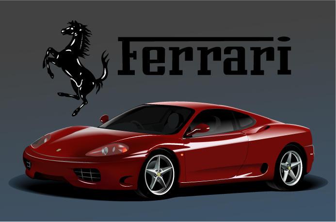 Ferrari 350 Modena by electrongeek on DeviantArt